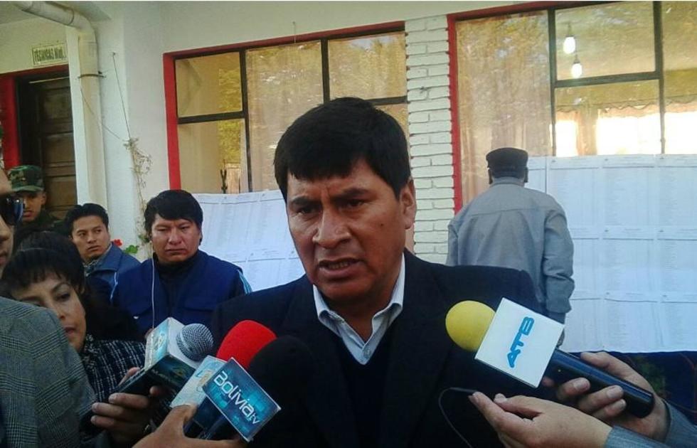 El gobernador Juan Carlos Cejas.