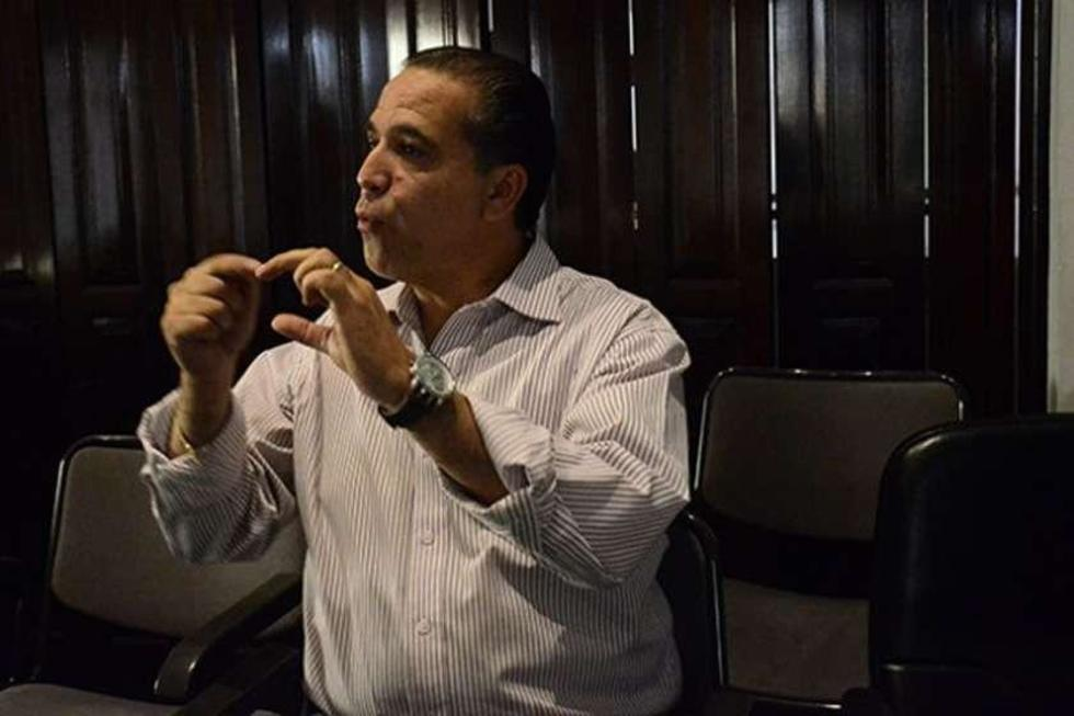 El exdirigente Mauricio Méndez Roca.