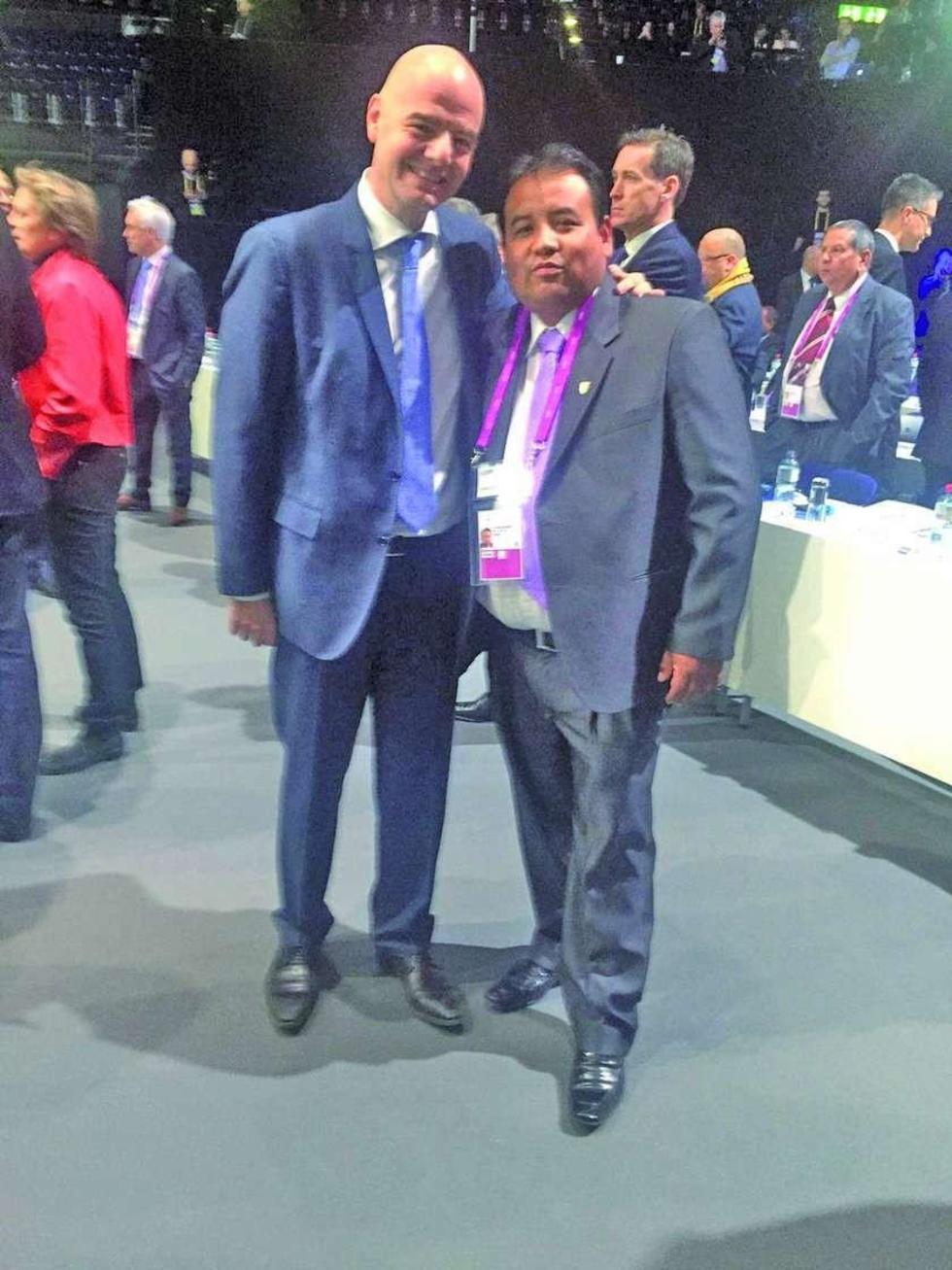 Potosí registra presencia en el congreso de la FIFA