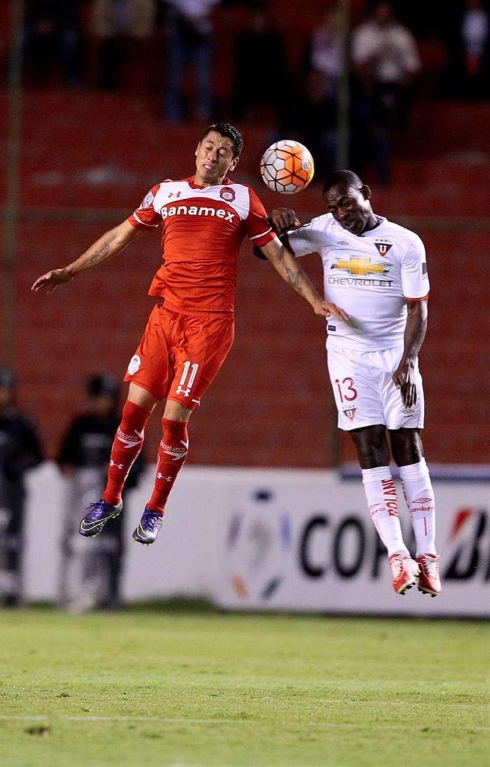 El Toluca gana a Liga de Quito y toma el control del grupo 6