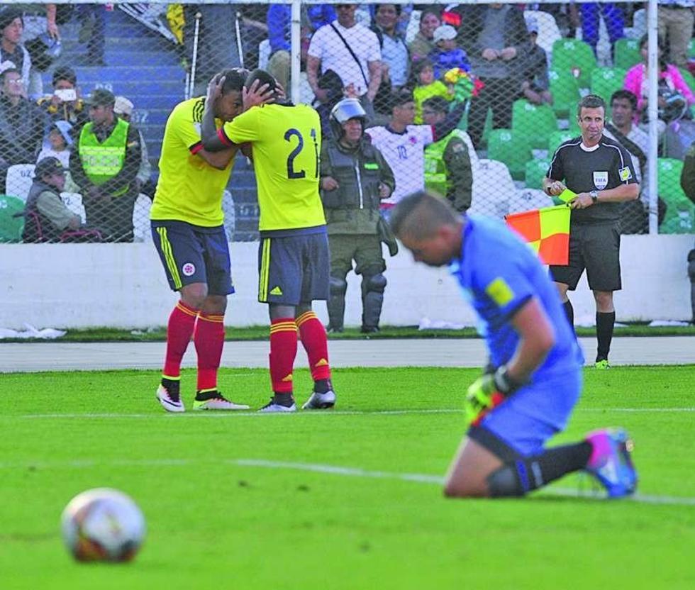 Bolivia pierde y se aleja del Mundial de Rusia