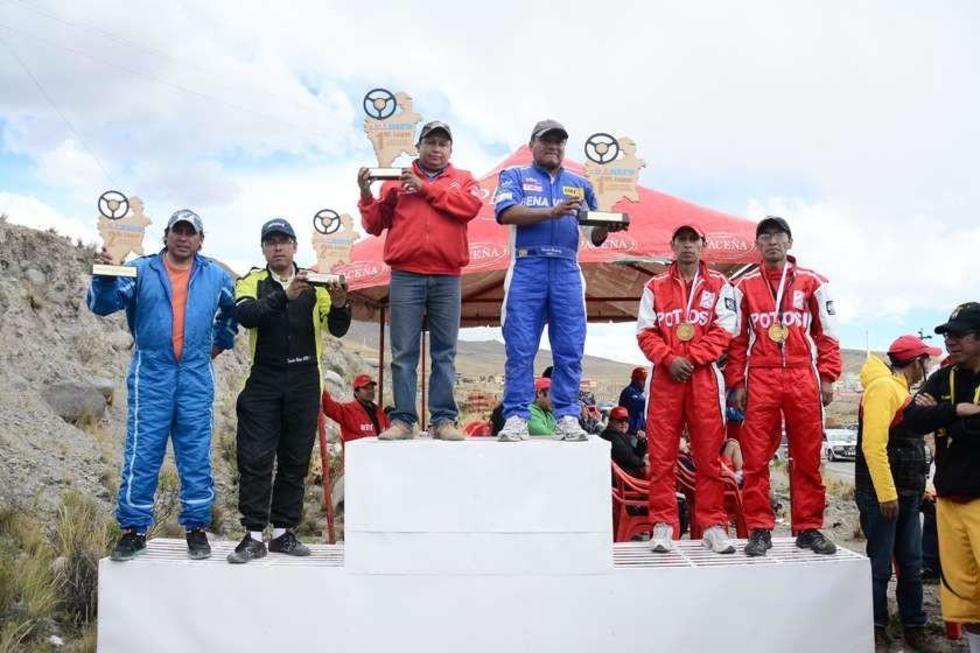 Los ganadores de la categoría R1B.