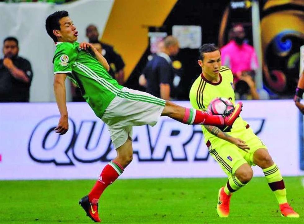 México empata a Venezuela y evita jugar con Argentina