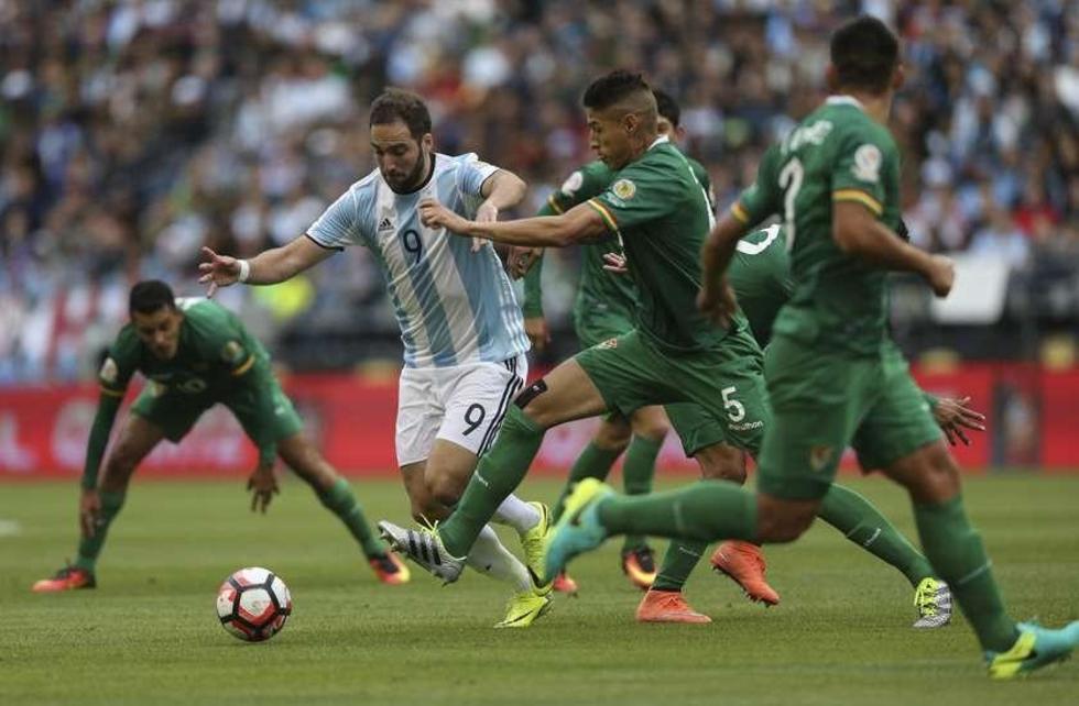 Bolivia se despide de la Copa Centenario con goleada