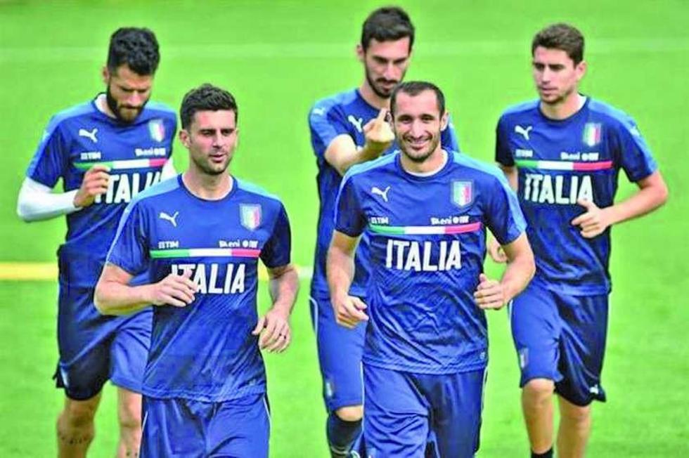 Italia está pendiente del regreso de Candreva