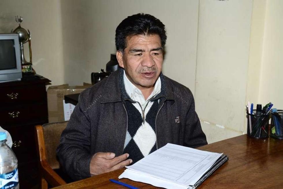 Gilberto Montero habla con el Potosí.