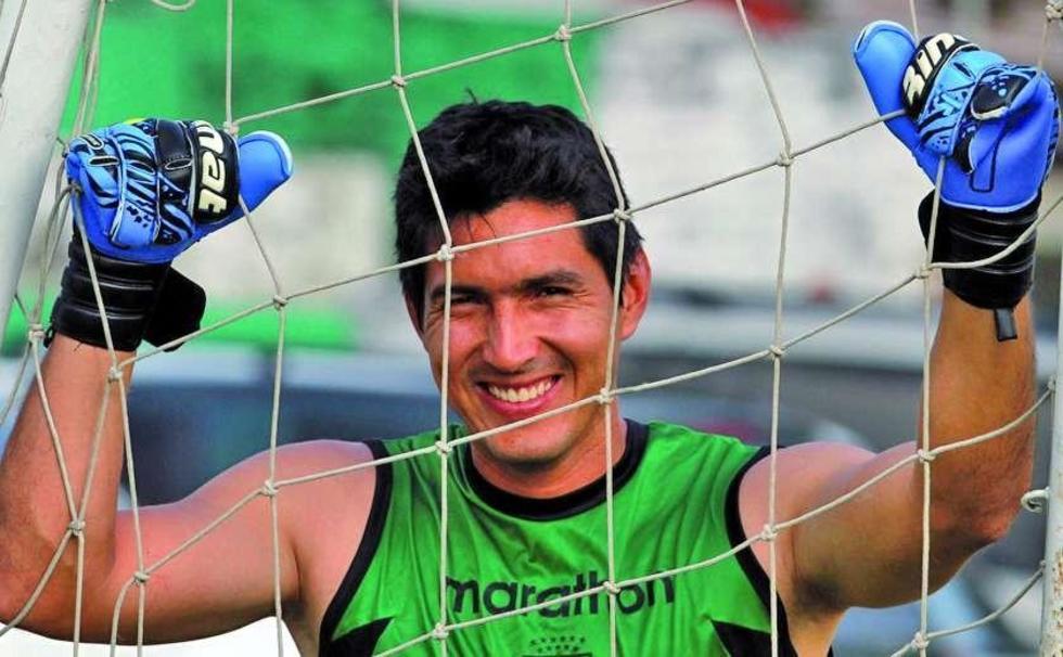 Guabirá negocia el retorno del guardameta Carlos Arias