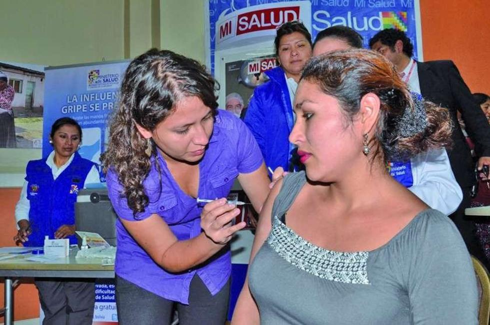 Hasta el 21 de junio, según Salud, solo se aplicó el 30 % de las 1.4 millones de vacunas contra la influenza.