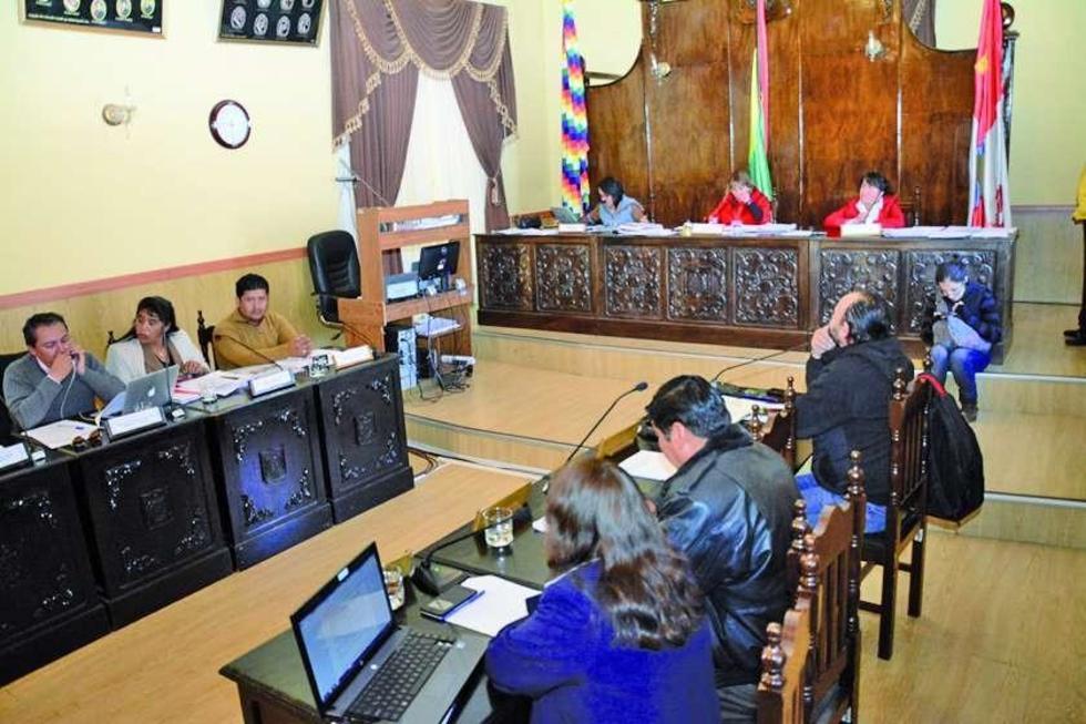 El Concejo Municipal de Potosí asumió la tarea de constituir el jurado.