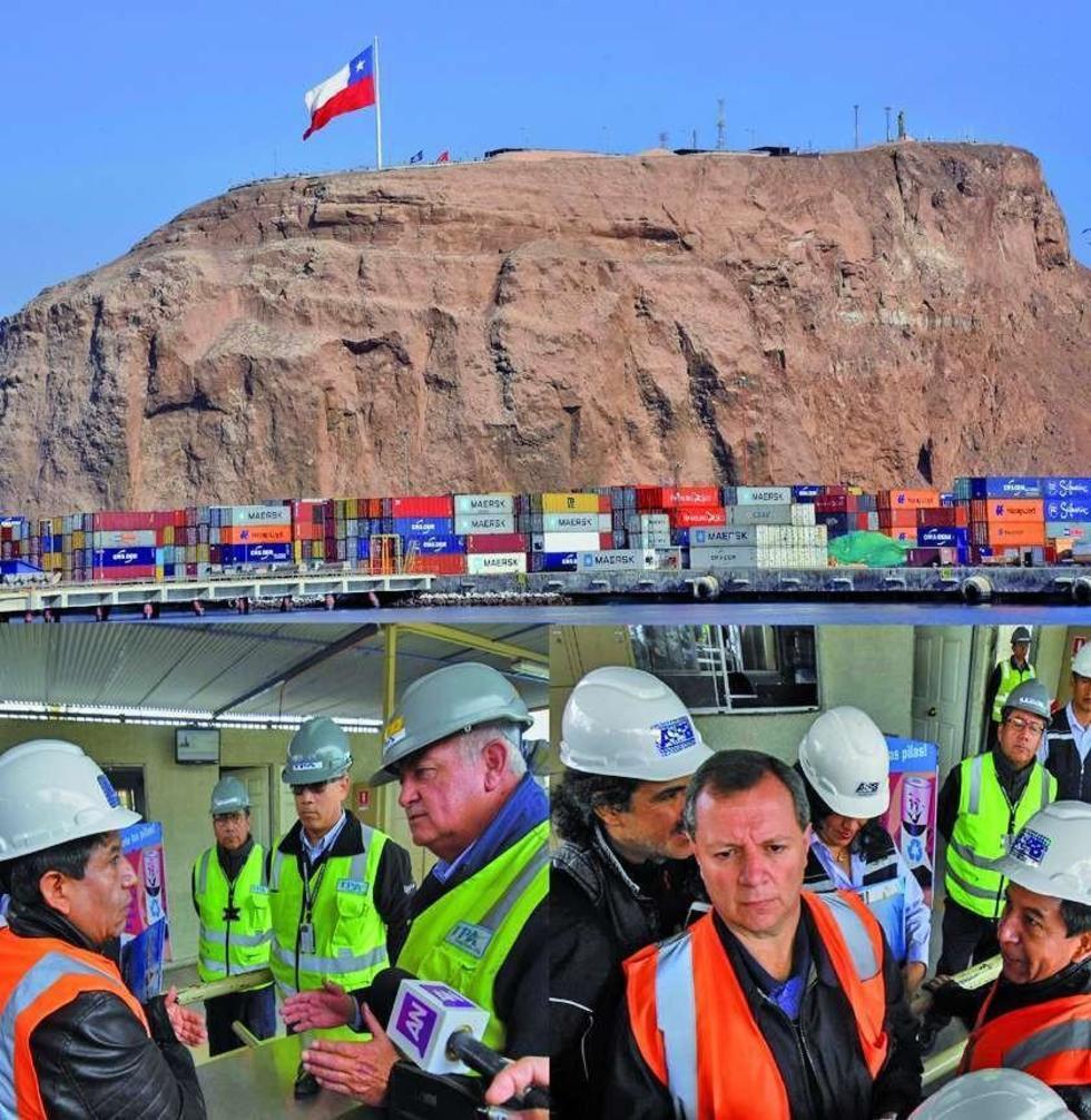 La misión nacional lamentó que existen malas condiciones de las  carreteras de acceso a los puertos.