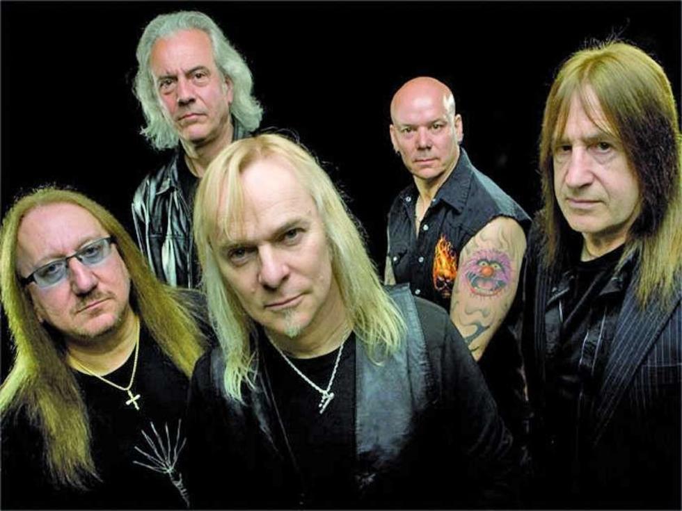 La emblemática banda de rock.