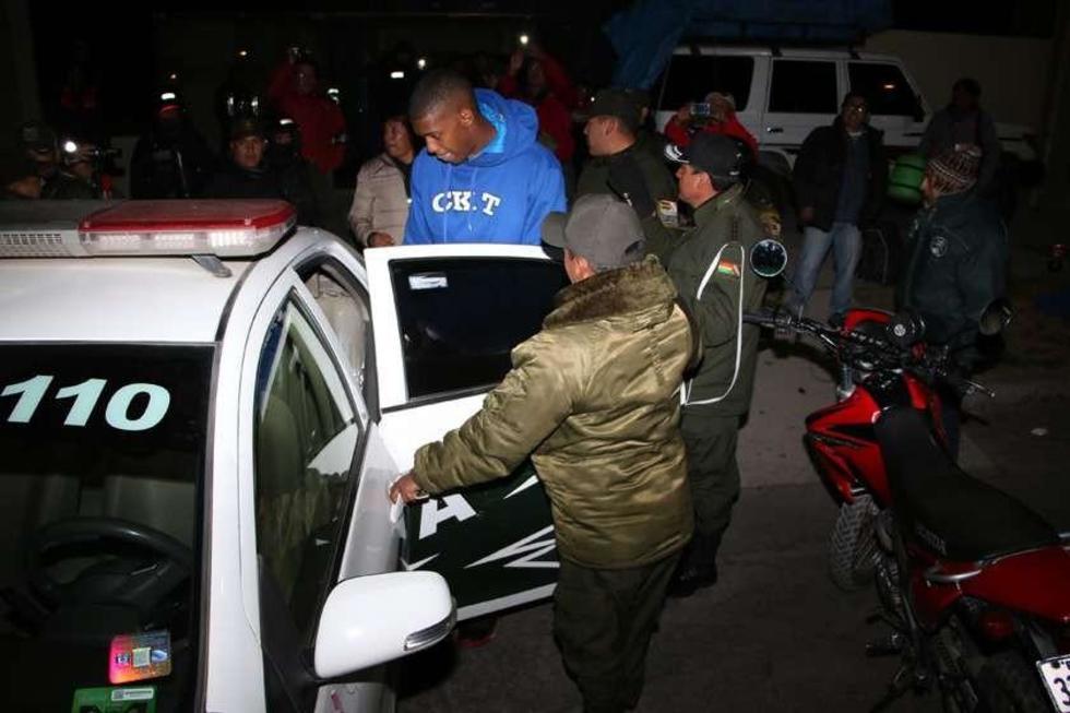 Se llevan detenido a un jugador de CAN