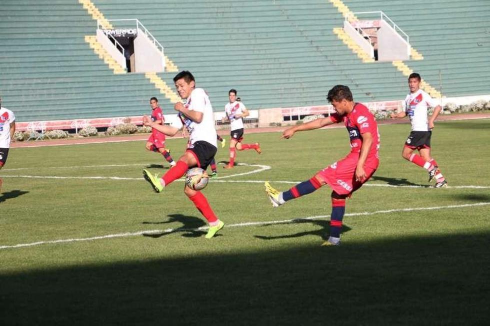 Nacional Potosí cae ante Universitario en su partido de prueba