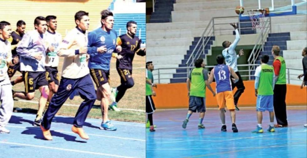 Potosí vive una jornada deportiva doble con perjuicio