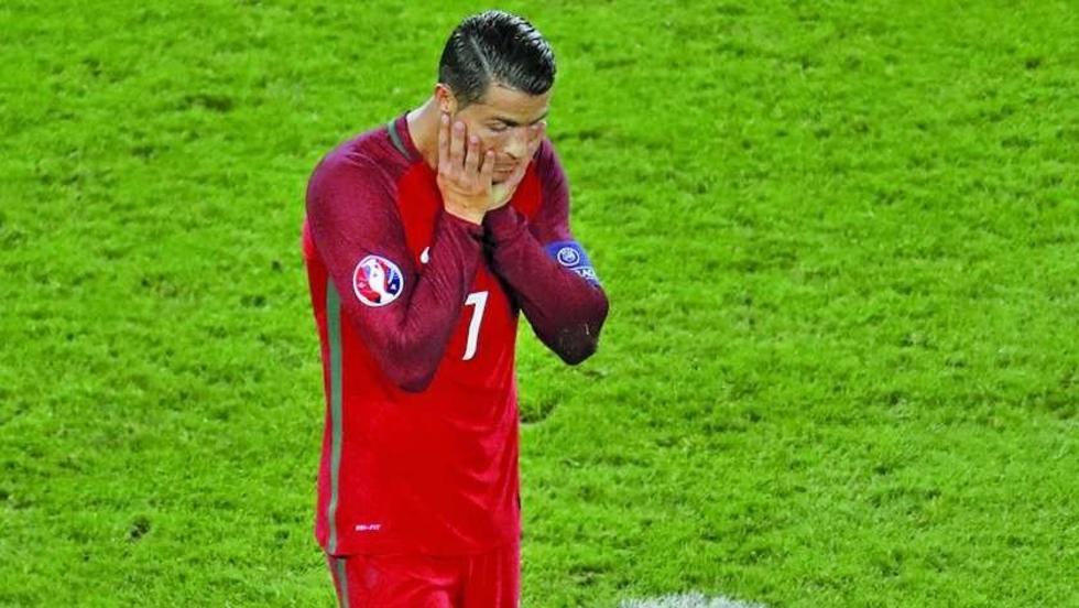 Ronaldo queda fuera de la lista de Portugal por lesión