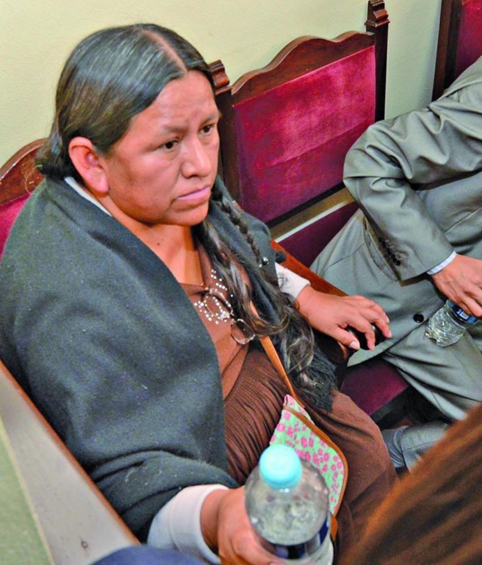 Está recluida de manera preventiva a la cárcel de Miraflores.