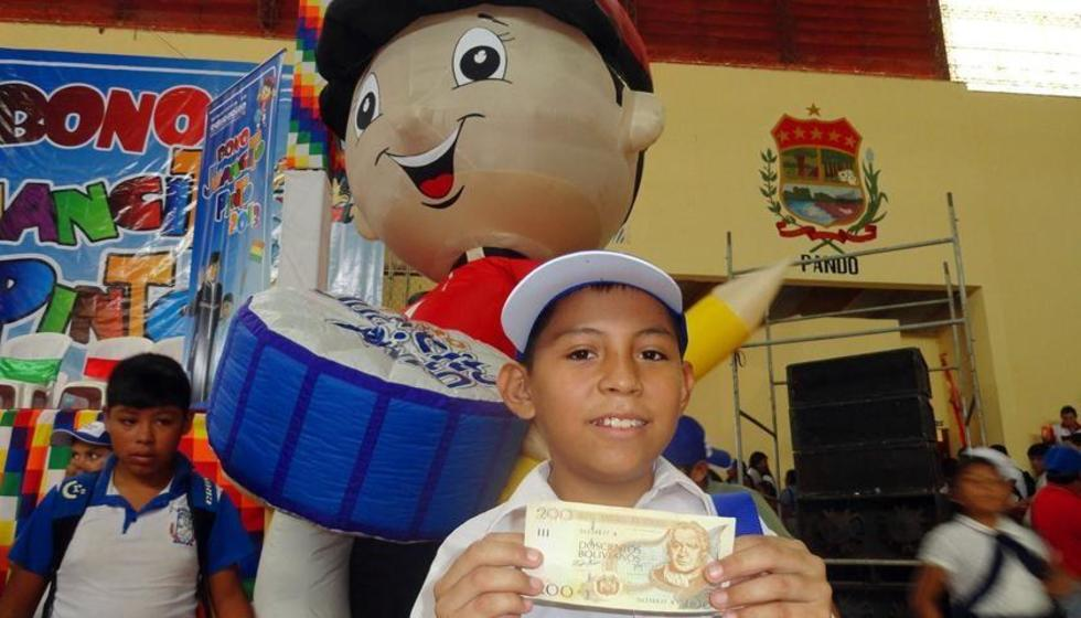 Pago del bono Juancito Pinto será tras revisar registros de asistencia