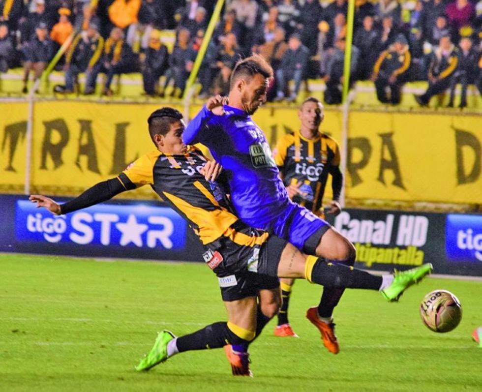 Real Potosí le roba un punto a The Strongest