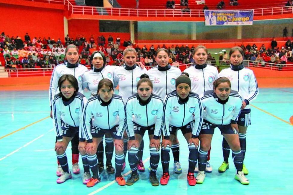 Las jugadoras de la selección potosina.