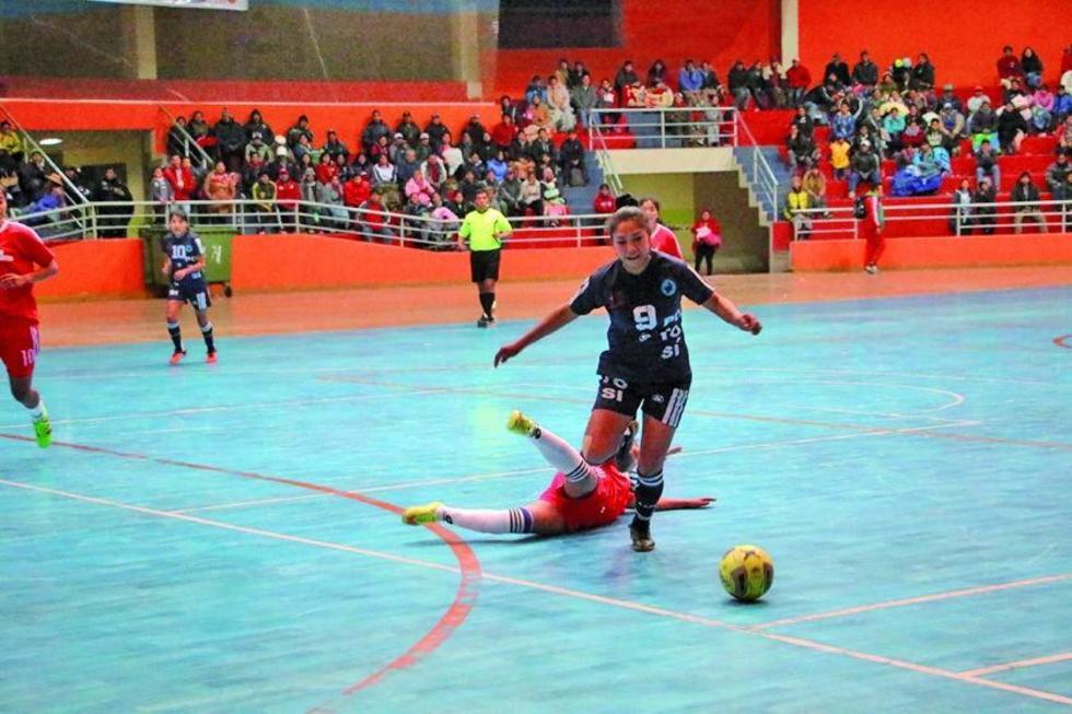 Potosí enfrenta a Cochabamba en semifinales de futsal