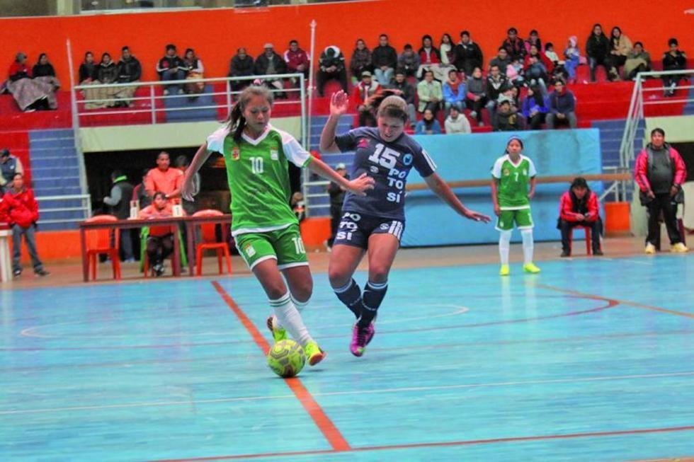 Potosí logra el tercer lugar en campeonato de fútbol de salón