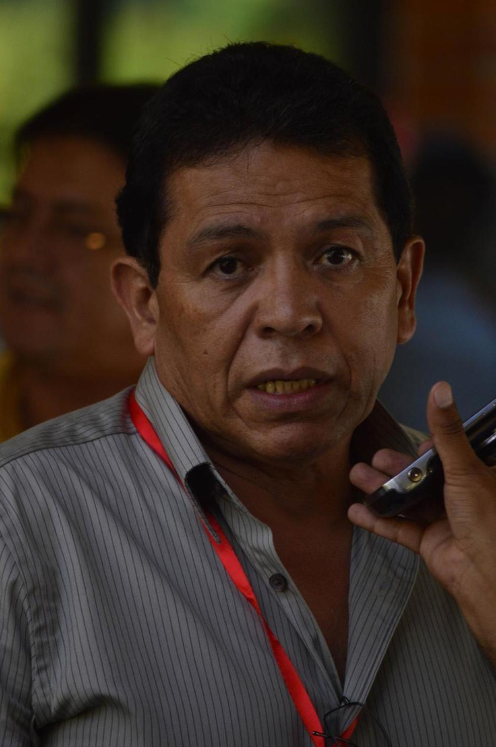 El presidente de la Federación Boliviana de Fútbol.