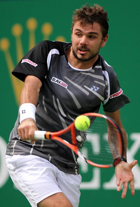 El tenista Stan Wawrinka.