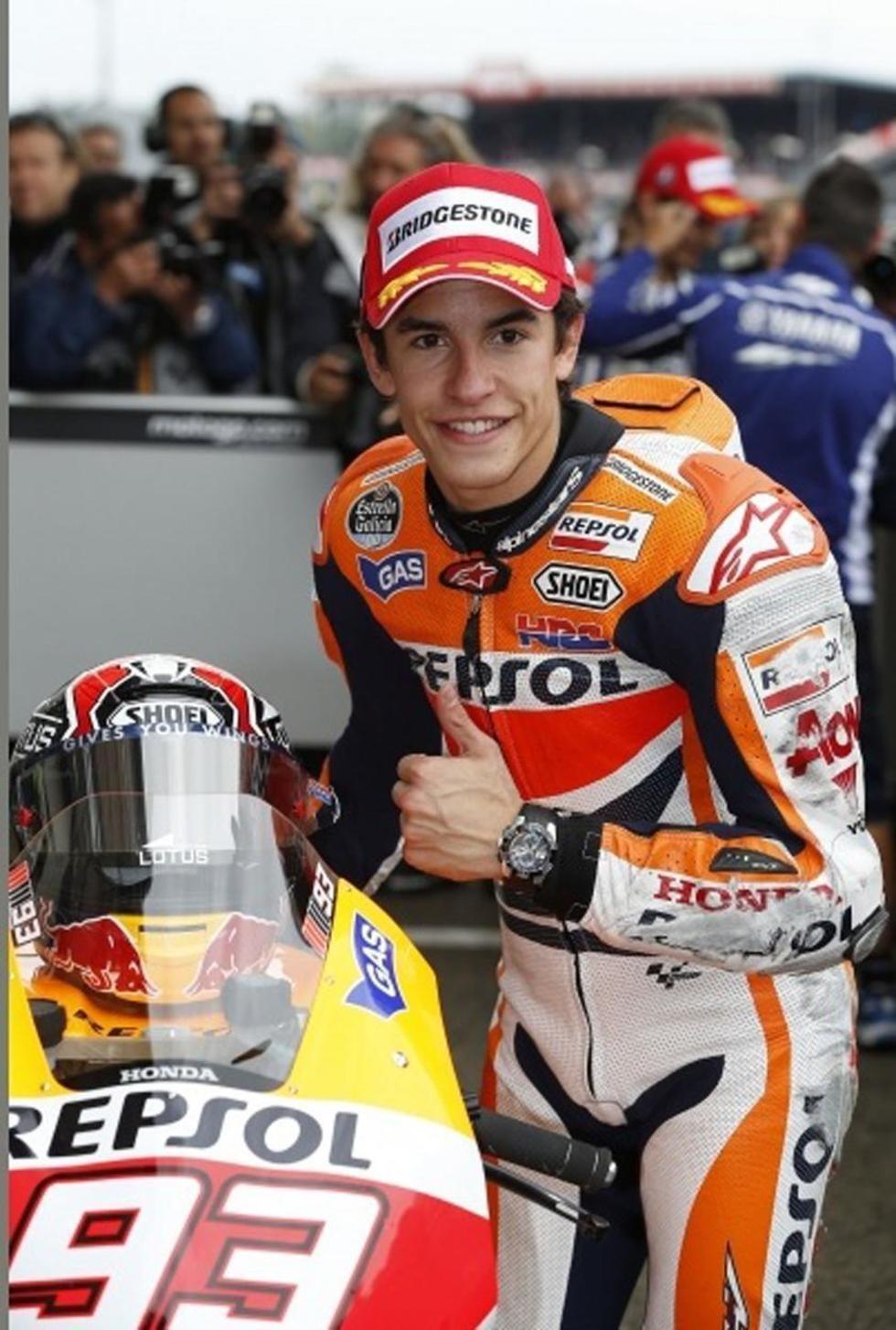 Márquez busca sumar en el GP de Japón