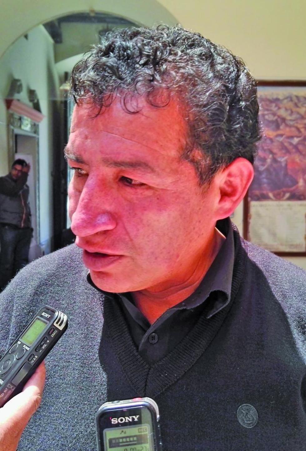 El diputado Víctor Borda.