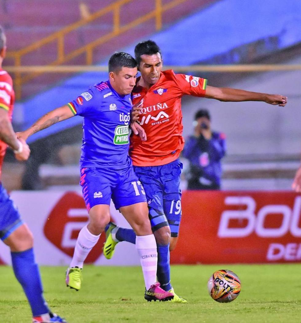 Real Potosí deja escapar puntos en Cochabamba