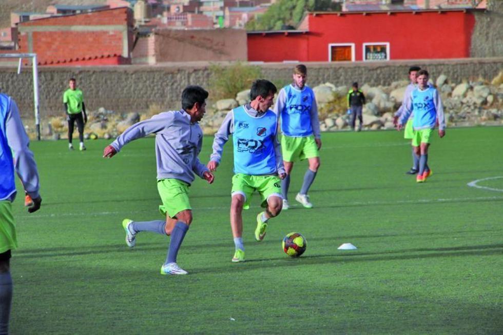 Nacional Potosí quiere sumar puntos frente   a Guabirá