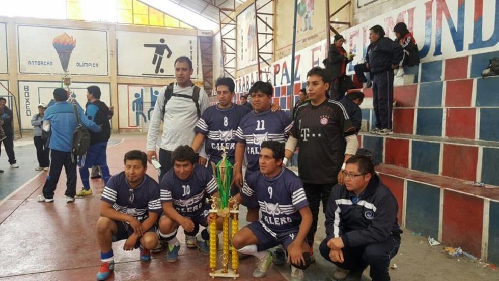 Calero se corona bicampeón de la Liga de Futsal del Magisterio Urbano