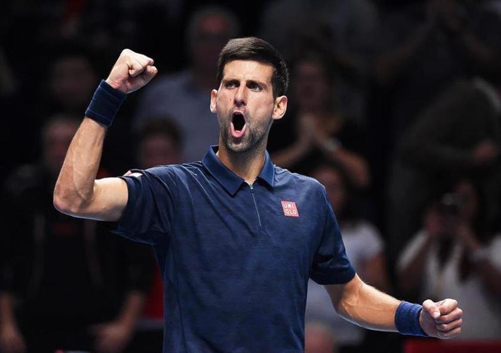 Djokovic reacciona con furia y derrota al austríaco Dominic Thiem