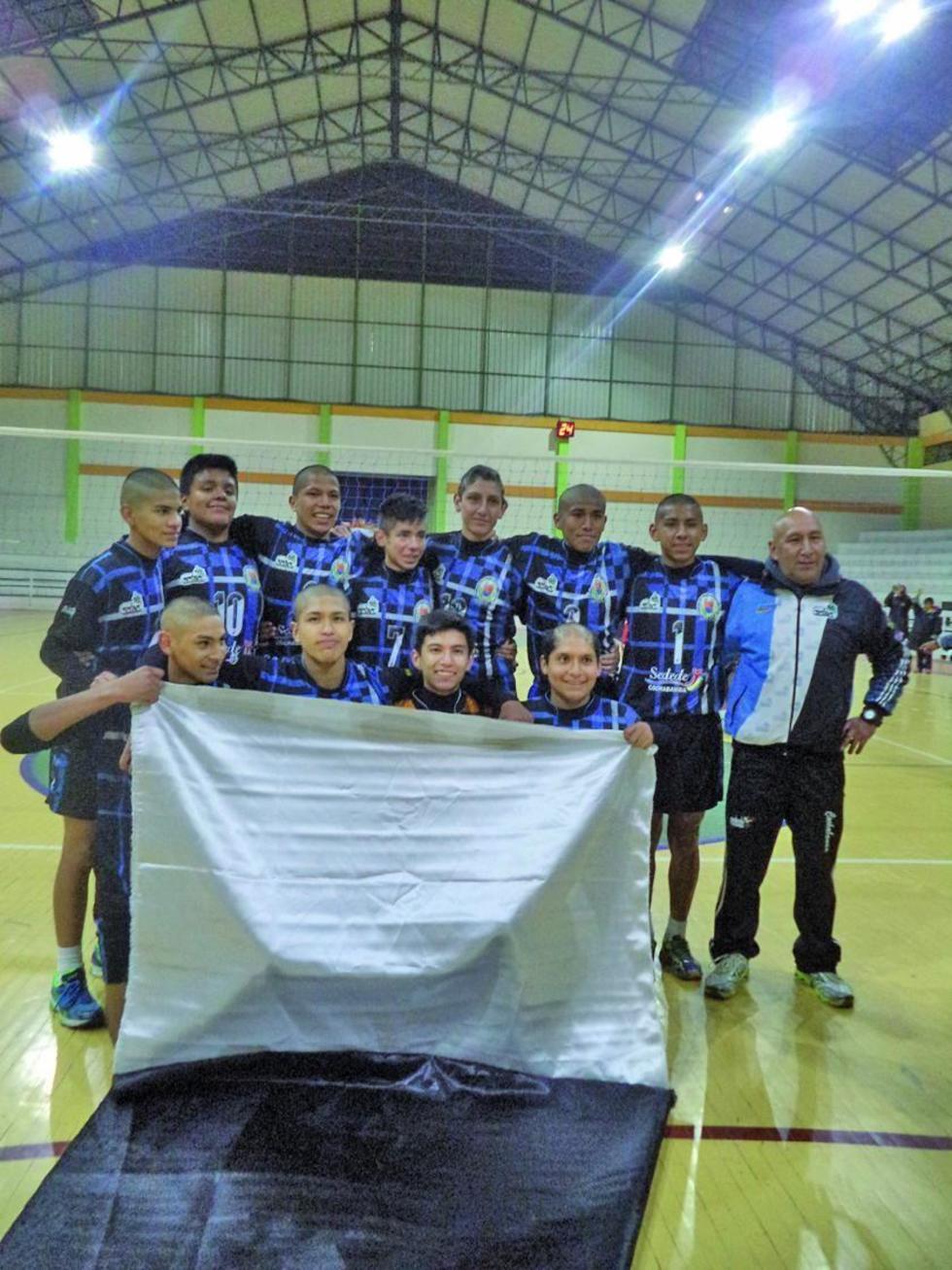 Cochabamba se corona campeón del torneo nacional de voleibol