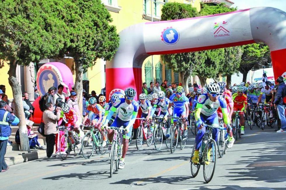 Cotumba y Soliz definen hoy el título de prueba de ciclismo