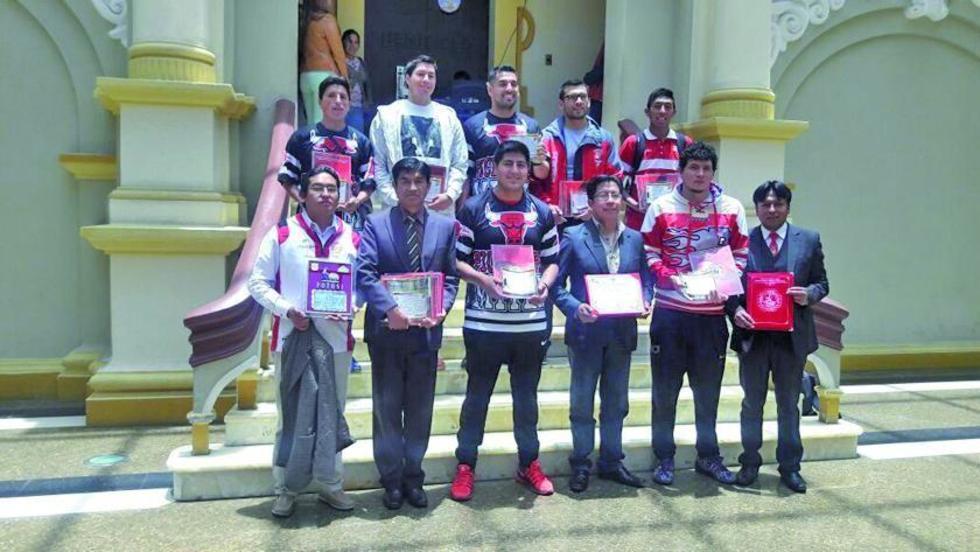 La Asamblea Legislativa Departamental reconoció al equipo de Pichincha.