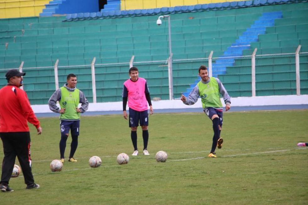 De izq. a der. David de la Torre, Alexis González, Limbert Méndez y Víctor Galaín.