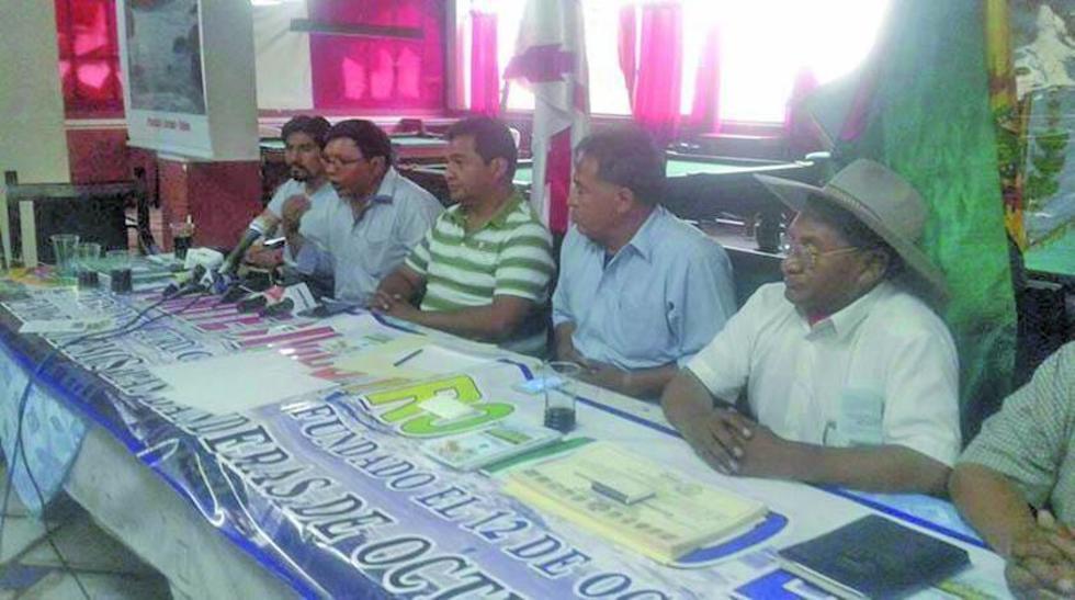 Piden al Gobierno de Evo Morales priorizar proyectos que garanticen la provisión de agua.