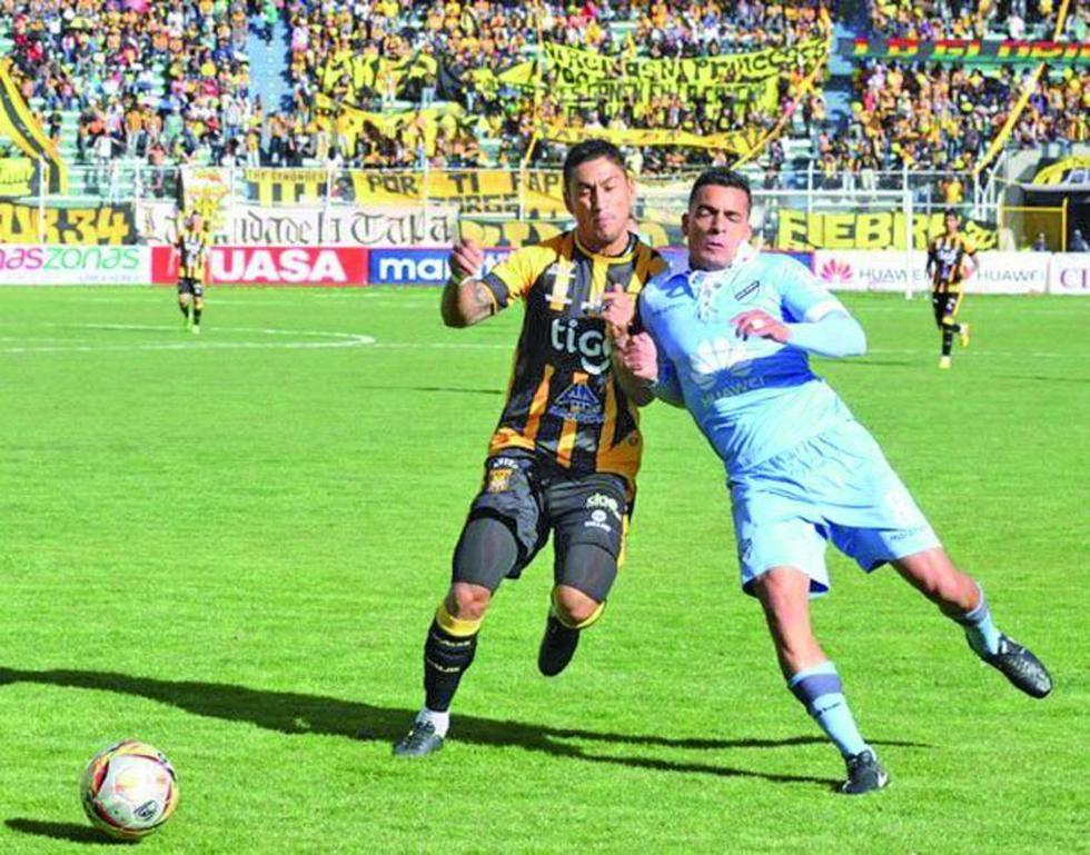 Bolívar y The Strongest van por el título liguero mañana al mediodía