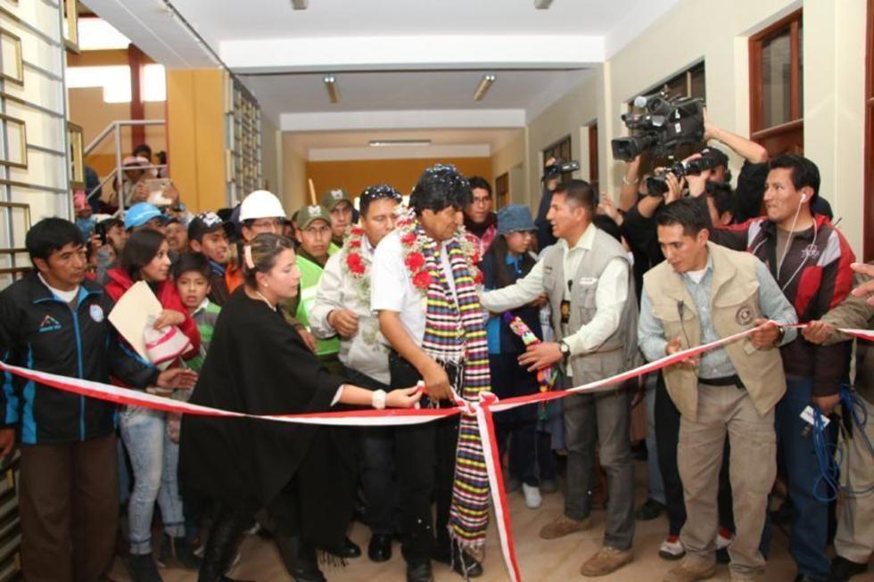 Entregan Complejo Deportivo Las Delicias construido con más de Bs cinco millones