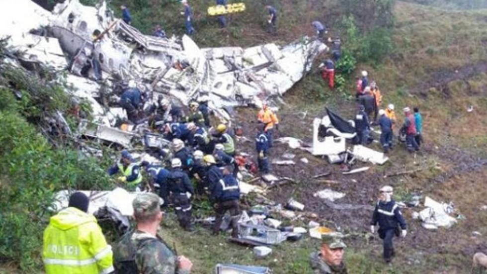 El 28 de noviembre, la aeronave de LaMia se estrelló en Colombia y dejó 71 fallecidos.