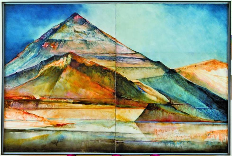 La pintura del artista potosino que se exhibe en el museo más grande de Bolivia.
