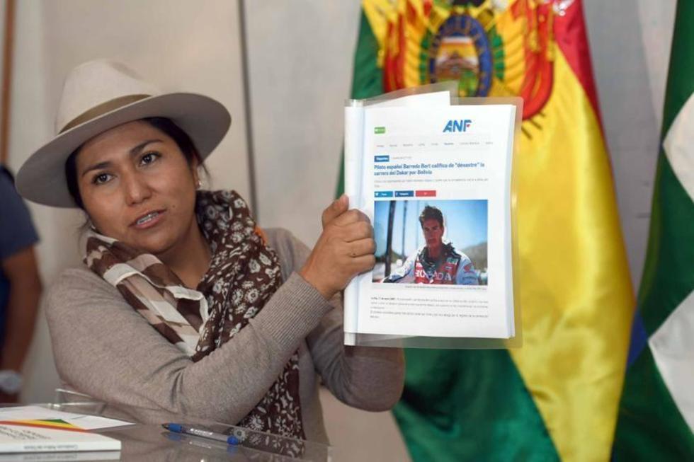 Ministra Paco rechaza titular de diario chileno