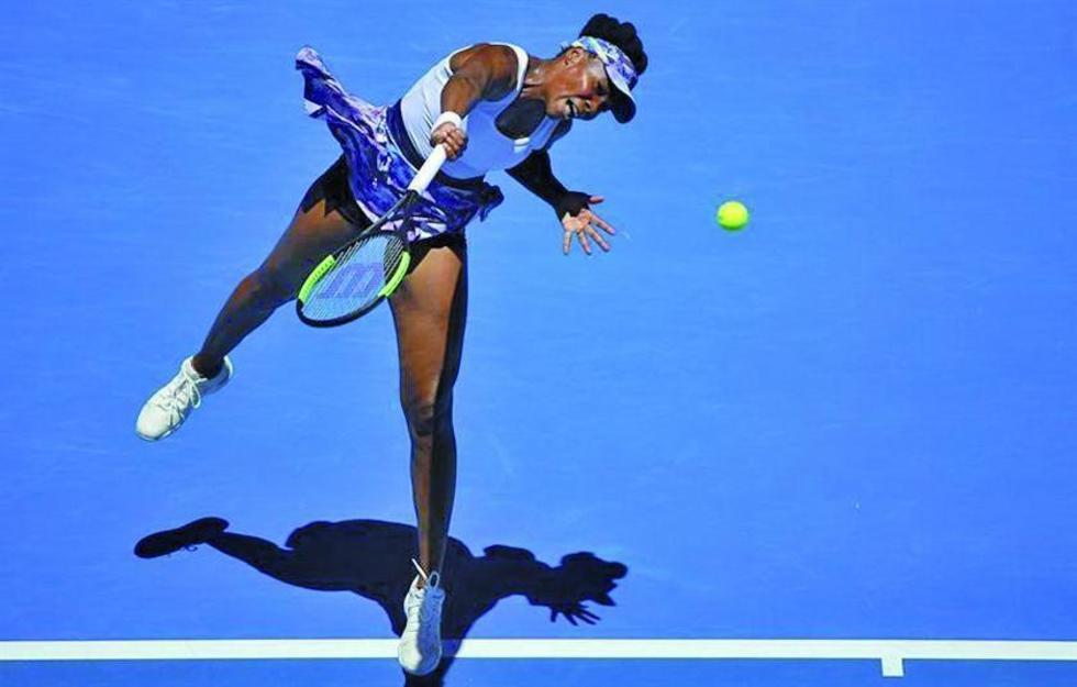 Venus firma los cuartos sin ceder un set