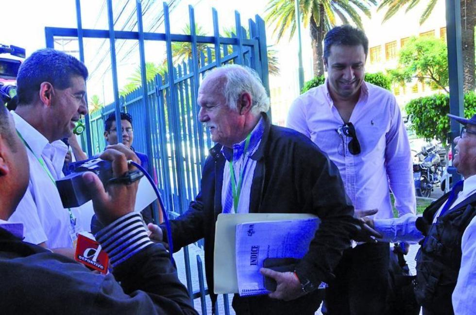 """Marco Peredo: """"habrá una sola cabeza en Bolivia"""""""