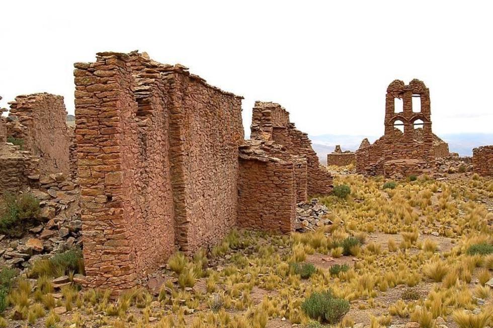 La vieja población de Aullagas, donde nació la diablada, será parte de una ruta.