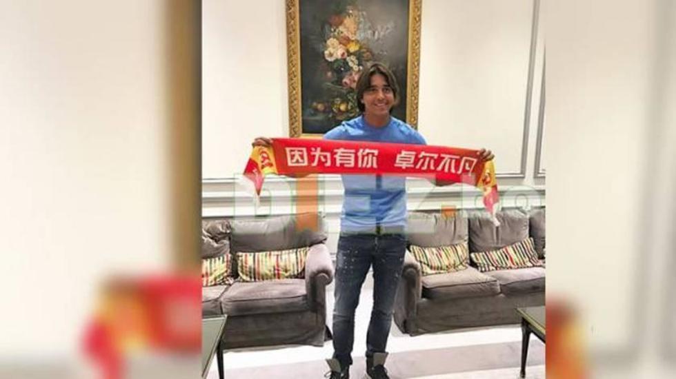 Marcelo Martins ficha para el Wuhan Zall de China