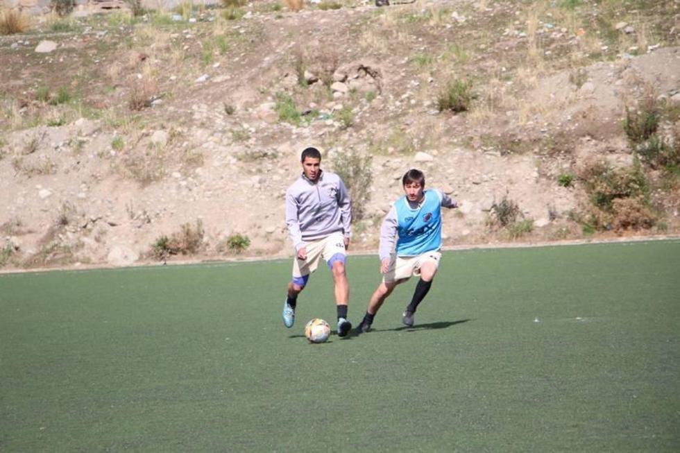 Aldo Paniagua y Walter Rioja.