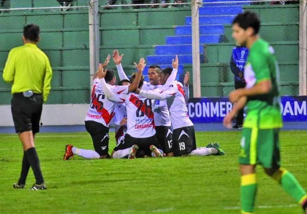 Nacional da su primer garrotazo en la Copa Sudamericana