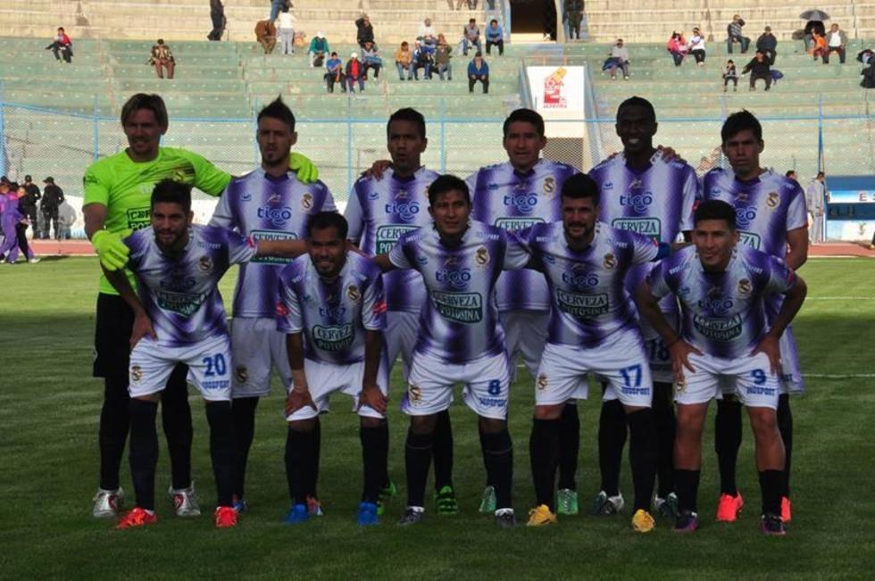 El equipo lila en su último partido de la Liga.